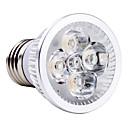 baratos Luz LED Ambiente-4 W 6000 lm E26 / E27 Lâmpadas de Foco de LED MR16 4 Contas LED LED de Alta Potência Branco Natural 85-265 V