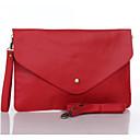 baratos Clutches & Bolsas de Noite-Mulheres Bolsas PU Bolsa de Festa para Casual Verde / Azul / Vermelho Escuro