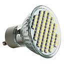 billige LED-lyspærer-6000lm GU10 LED-spotpærer MR16 60 LED perler SMD 3528 Naturlig hvit 220-240V