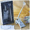 저렴한 인조 속눈썹-나비 테마 웨딩 펜은 흰색 수지로 설정