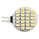 preiswerte LED Doppelsteckerlichter-2 W 6000 lm G4 LED Spot Lampen 24 LED-Perlen SMD 3528 Natürliches Weiß 12 V