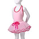 preiswerte Ballettbekleidung-Tanzkleidung für Kinder / Ballett Kleider / Balletröckchen Leistung Baumwolle / Elasthan Ärmellos / Aufführung