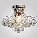 cheap Ceiling Lights-Lightinthebox Flush Mount Ambient Light - Crystal, Mini Style, 110-120V / 220-240V Bulb Not Included / 30-40㎡ / E12 / E14