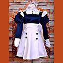 hesapli Anime Cosplay Peruklar-Esinlenen Black Butler Mey-Rin Anime Cosplay Kostümleri Cosplay Takımları / Elbiseler Kırk Yama Uzun Kollu Elbise / Saç Bandı Uyumluluk Kadın's Cadılar Bayramı Kostümleri / Saten