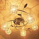 cheap Ceiling Lights-6-Light Flush Mount Downlight - Crystal, 110-120V / 220-240V Bulb Included / G4 / 20-30㎡