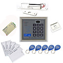 preiswerte Türschloss-Stand Alone Access Controller Kits (Electric Bolt, 10 EM-ID Card, Power Supply)