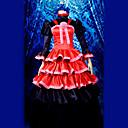 abordables Disfraces de Anime-Inspirado por Shakugan no Shana Shana Animé Disfraces de cosplay Trajes Cosplay / Vestidos Retazos Manga Larga Vestido / Tocados / Guantes Para Mujer Disfraces de Halloween / Satín