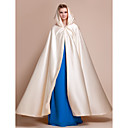cheap Eyebrows-Satin Wedding / Party Evening Wedding  Wraps / Hoods & Ponchos With Capes