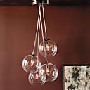 ieftine Lumini Pandativ-QINGMING® 4-Light grup Lumini pandantiv Lumină Spot - Stil Minimalist, 110-120V / 220-240V Becul nu este inclus / 15-20㎡ / E12 / E14