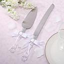 hesapli Düğün Davetiyeleri-Paslanmaz Çelik Bahçe Teması Klasik Tema Hediye Kutusu Servis Setleri