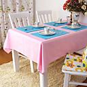 abordables Accesorios de Limpieza de la Cocina-100% algodón Cuadrado Forros de Mesa Un Color Ecológica Decoraciones de mesa