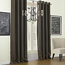 halpa Blackout-verhot-2 paneeli Window Hoito Moderni Yhtenäinen Living Room Polyesteri materiaali Pimennysvuoritus Drapes Kodinsisustus