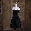 povoljno Lolita haljine-Gothic Lolita Princeza Žene Haljine Cosplay Bez rukávů Dužina kratkih hlača