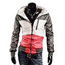 ieftine Articole de Bucătărie-Bărbați Peteci Urmăriți jacheta - Gri Sport Topuri Manșon Lung Îmbrăcăminte de Sport  Impermeabil, Keep Warm