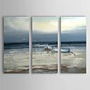 halpa Maisema maalaukset-Maalattu Maisema Horizontal Kangas Hang-Painted öljymaalaus Kodinsisustus 3 paneeli
