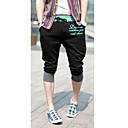 hesapli LED Ampuller-Erkek sevimli Stil Şortlar Eşoğman Altı Pantolonlar Pantolon Leopar Harf