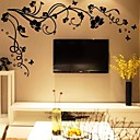 cheap Wall Stickers-Botanical Wall Stickers Plane Wall Stickers Decorative Wall Stickers, Vinyl Home Decoration Wall Decal Wall
