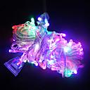 preiswerte Tortenfiguren & Dekoration-Leuchtgirlanden LEDs LED Wasserfest / Dekorativ # 1pc