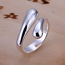 cheap Rings-Women's Band Ring - Silver Plated, Alloy Open Adjustable Silver For Party
