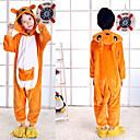 Недорогие Пижамы кигуруми-Пижамы кигуруми Детские Мальчики и девочки Мода Фестиваль / праздник Фланель Флис Карнавальные костюмы Милый