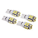 cheap Car Interior Lights-SO.K 4pcs T10 Car Light Bulbs 1 W SMD 3528 120 lm LED Turn Signal Light For universal