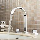 זול ברזים למקלחת-עכשווי  with  כרום שתי ידיות שלושה חורים  for נפוץ