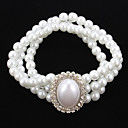 cheap Bracelets-Women's 1 - Strand Classic Bracelet For Party Special Occasion Birthday