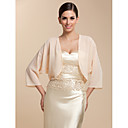 cheap Wedding Wraps-Chiffon Party Evening / Casual Wedding  Wraps With Coats / Jackets