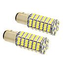 baratos Faróis para Carros-2pcs BAY15D(1162) Carro Lâmpadas SMD 3020 660 lm LED Lâmpada de Farol For Universal