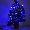 ieftine Fâșie Becuri LED-10m Fâșii de Iluminat 100 LED-uri Albastru 220 V