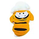 hesapli USB-Köpek Kapüşonlu Giyecekler Köpek Giyimi Hayvan Sarı Pamuk Kostüm Evcil hayvanlar için Erkek Kadın's Sevimli