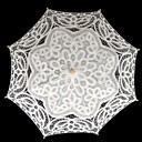 """abordables Parasoles de Boda-boda / paraguas de encaje de mascarada 29.9 """"(aprox.76cm) accesorios de la boda"""