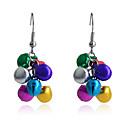 preiswerte Modische Ohrringe-Damen Tropfen-Ohrringe - Europäisch, nette Art Regenbogen Für Party / Alltag / Normal