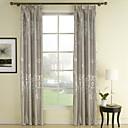 abordables Cortinas Transparentes-cortinas cortinas Dormitorio Poliéster Estampado