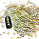 hesapli Tırnak Sanatı-100 pcs Nail Art Takımı Tırnak Takısı tırnak sanatı Manikür pedikür Günlük Punk / Moda / Nail Jewelry / Metal