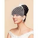 cheap Party Headpieces-Blusher Veils / Charms / Accessory Party Accessories Party / Party / Evening Classic Theme / Holiday Material