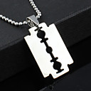 cheap Men's Bracelets-Men's Pendant Necklace - Stainless Steel, Titanium Steel Unique Design, Punk, Fashion Necklace Jewelry 1pc For Christmas Gifts, Party, Gift, Daily