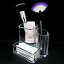 baratos Porta Cosméticos-Armazenamento de Maquilhagem Maquiagem 1 pcs Acrílico Outro Clássico Diário Cosmético Artigos para Banho & Tosa