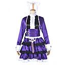 hesapli Video Oyun Kostümleri-Esinlenen LOL Annie Video oyun Cosplay Kostümleri Cosplay Takımları Kırk Yama Elbise / Başlık / Kemer Cadılar Bayramı Kostümleri / Saten