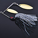 cheap Fishing Lures & Flies-1 pcs Hard Bait / Metal Bait / Fishing Lures Hard Bait / Metal Bait Metal Sea Fishing / Freshwater Fishing / General Fishing