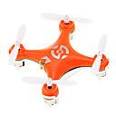 preiswerte Lupen-RC Drohne Cheerson CX-10 RTF 4 Kan?le 6 Achsen 2.4G Ferngesteuerter Quadrocopter 360-Grad-Flip Flug / Flight Upside-Down / Vision Positioning Ferngesteuerter Quadrocopter / Fernsteuerung / USB Kabel