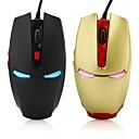 billige Mus-Ledning Gaming Mouse DPI justerbar Baggrundsbelyst 2400