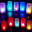رخيصةأون إضاءة عصرية-1PC ضوء الشمعة البطارية ديكور