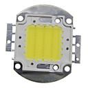 billige Kornpærer med LED-zdm 1pc diy 30w 2800-3200lm varm hvit kald hvit naturlig hvit 3000-6500k lys integrert ledermodul (dc33-35v 0.8a) gate lampe for å projisere lett gull tråd sveising av kobber brakett