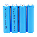 cheap Flashlights & Camping Lanterns-18650 Battery Rechargeable Lithium-ion Battery 5000.0 mAh 4pcs Rechargeable for Camping/Hiking/Caving