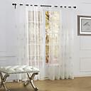 baratos Cortinas Transparentes-Sheer Curtains Shades Quarto Poliéster Bordado