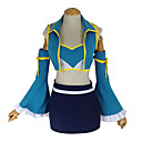 economico Parrucche cosplay anime-Ispirato da Fairy Tail Lucy Heartfilia Anime Costumi Cosplay Abiti Cosplay Collage Canottiera / Gonna / Reggiseni Per Per donna