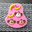 hesapli Kek Kalıpları-Bakeware araçları Plastik Kek Pasta Kalıpları 1pc
