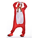 ieftine Pijamale Kigurumi-Pijama Kigurumi Viulpe Pijama Întreagă Costume Lână polară Rosu Cosplay Pentru Sleepwear Pentru Animale Desen animat Halloween Festival /