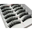 cheap Eyelashes-Eyelash Volumized Daily Makeup Lengthens the End of the Eye Makeup Tools High Quality Daily